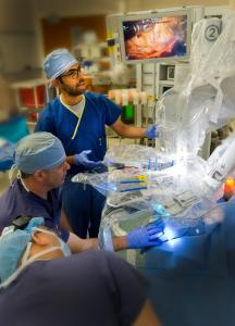 Dr. Uma Duvvuri in a Pittsburgh CREATES Lab