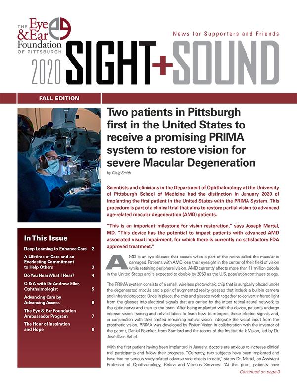 Sight + Sound, Fall 2020